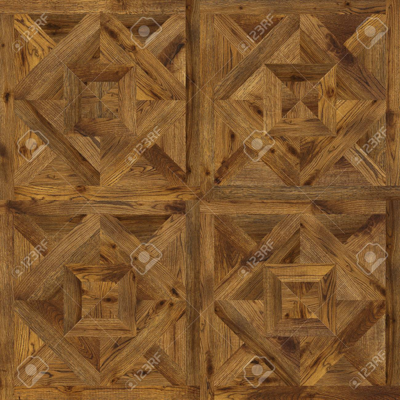 Natural Wooden Background Grunge Parquet Flooring Design Seamless Texture For 3d Interior Stock Photo