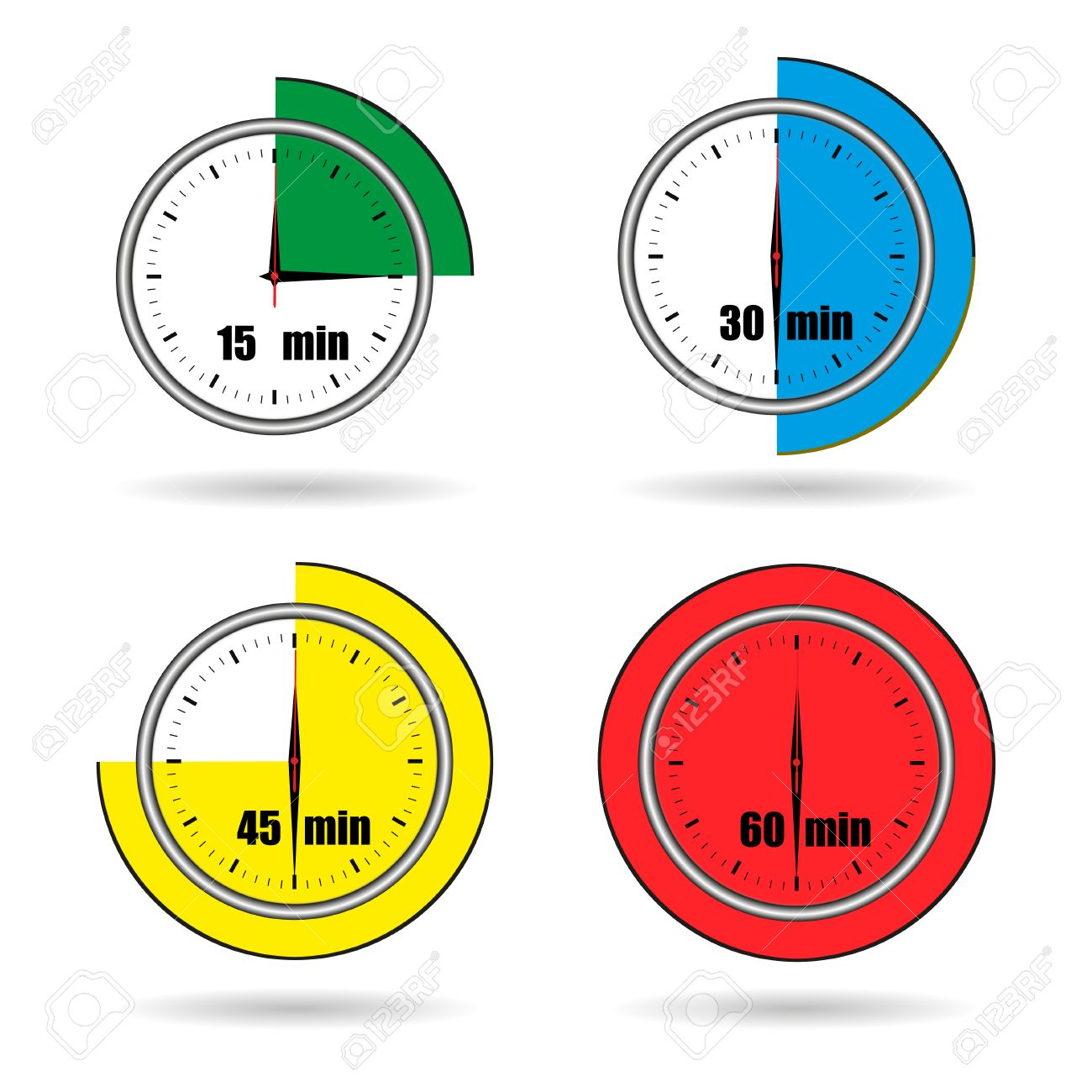 Clock icons stopwatch time from 15 minutes to 60 minutes vector clock icons stopwatch time from 15 minutes to 60 minutes vector stock vector 40548503 publicscrutiny Image collections