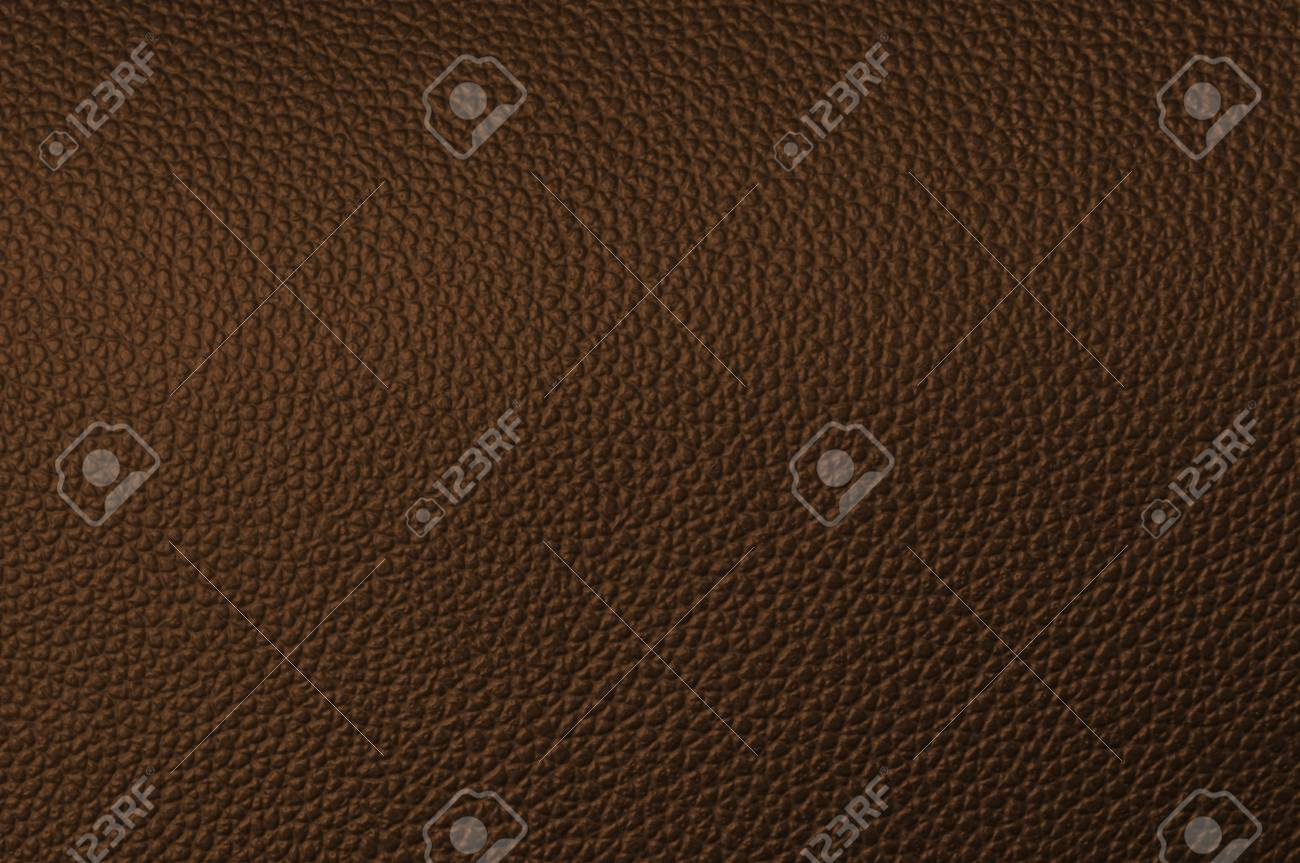 a natural brown leather texture. close up. Stock Photo - 9746057