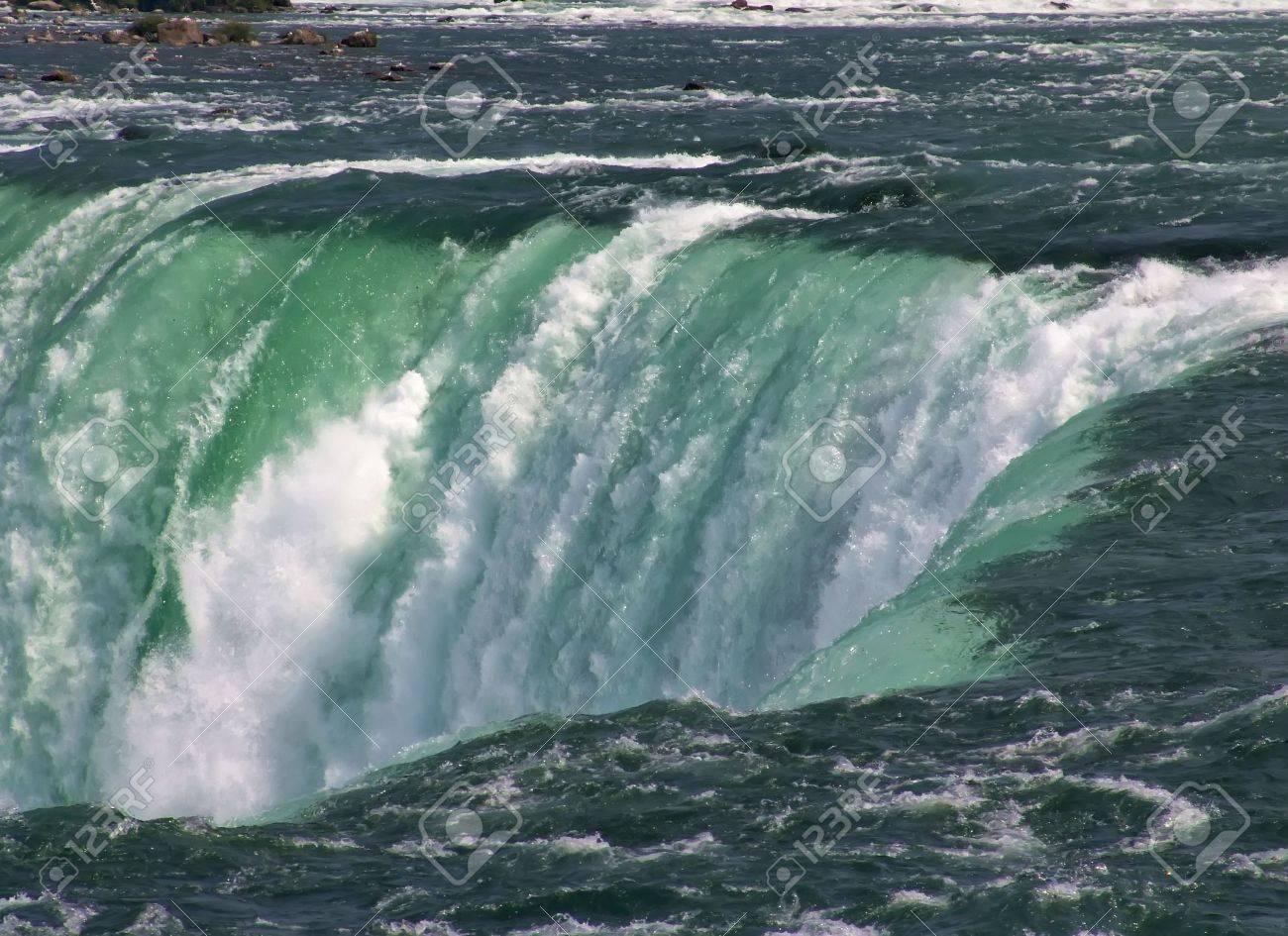 Niagara Falls, famous tourist landmark. Ontario, Canada - 5425932