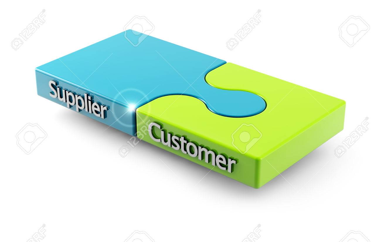 concept of matching between customer and supplier as two pieces