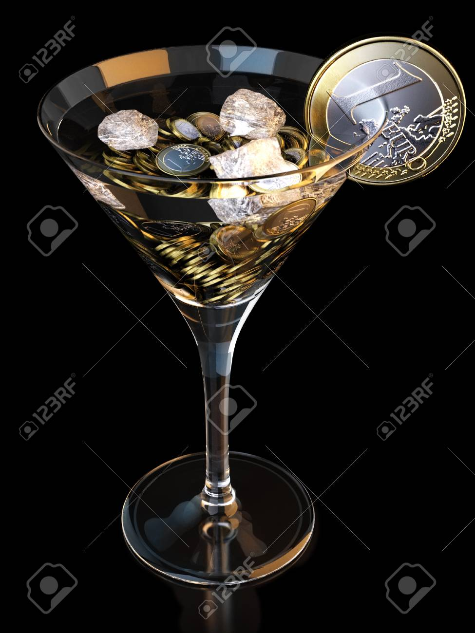 business coctail Stock Photo - 13085614
