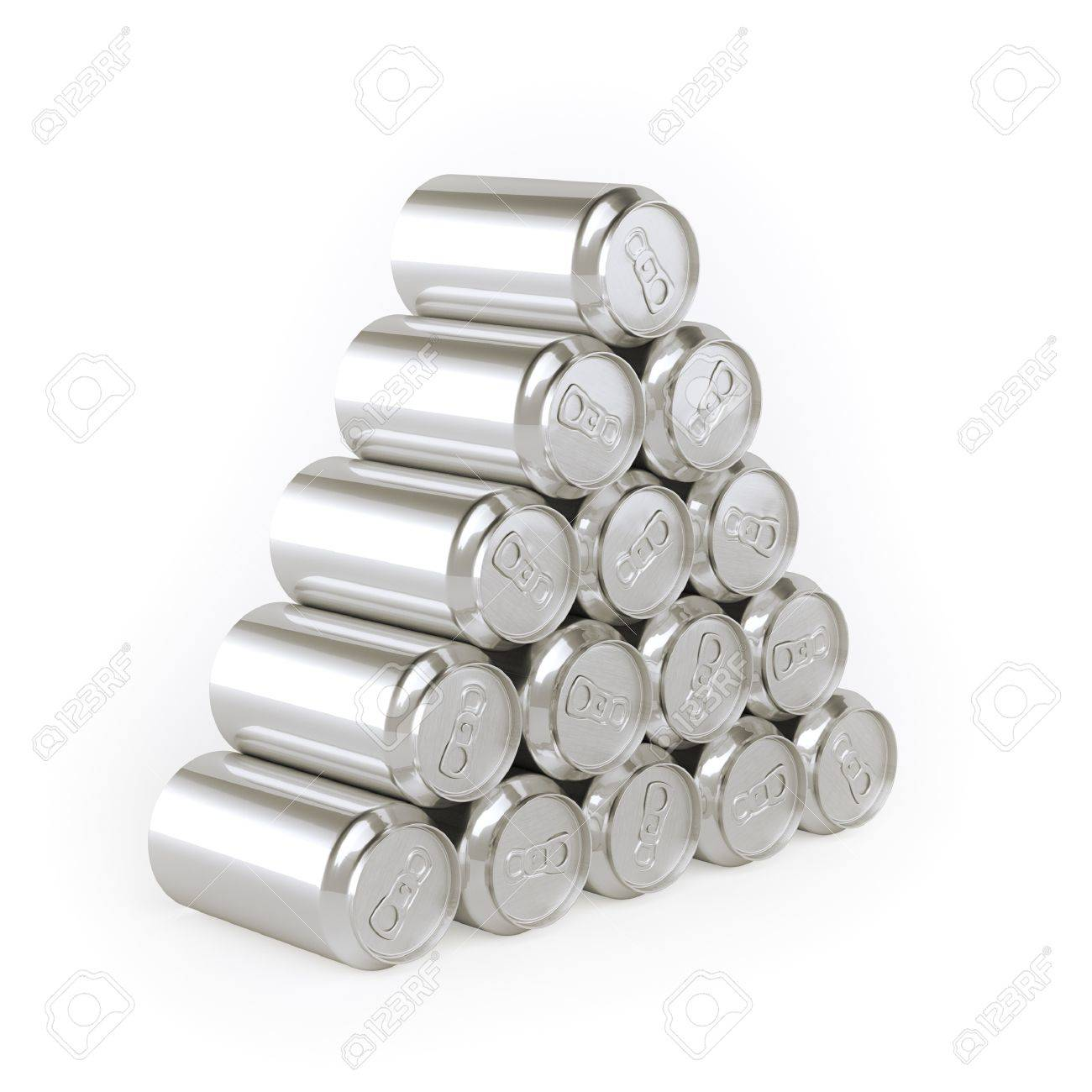 Pyramid of cans Tin-Plate Material - 21923206