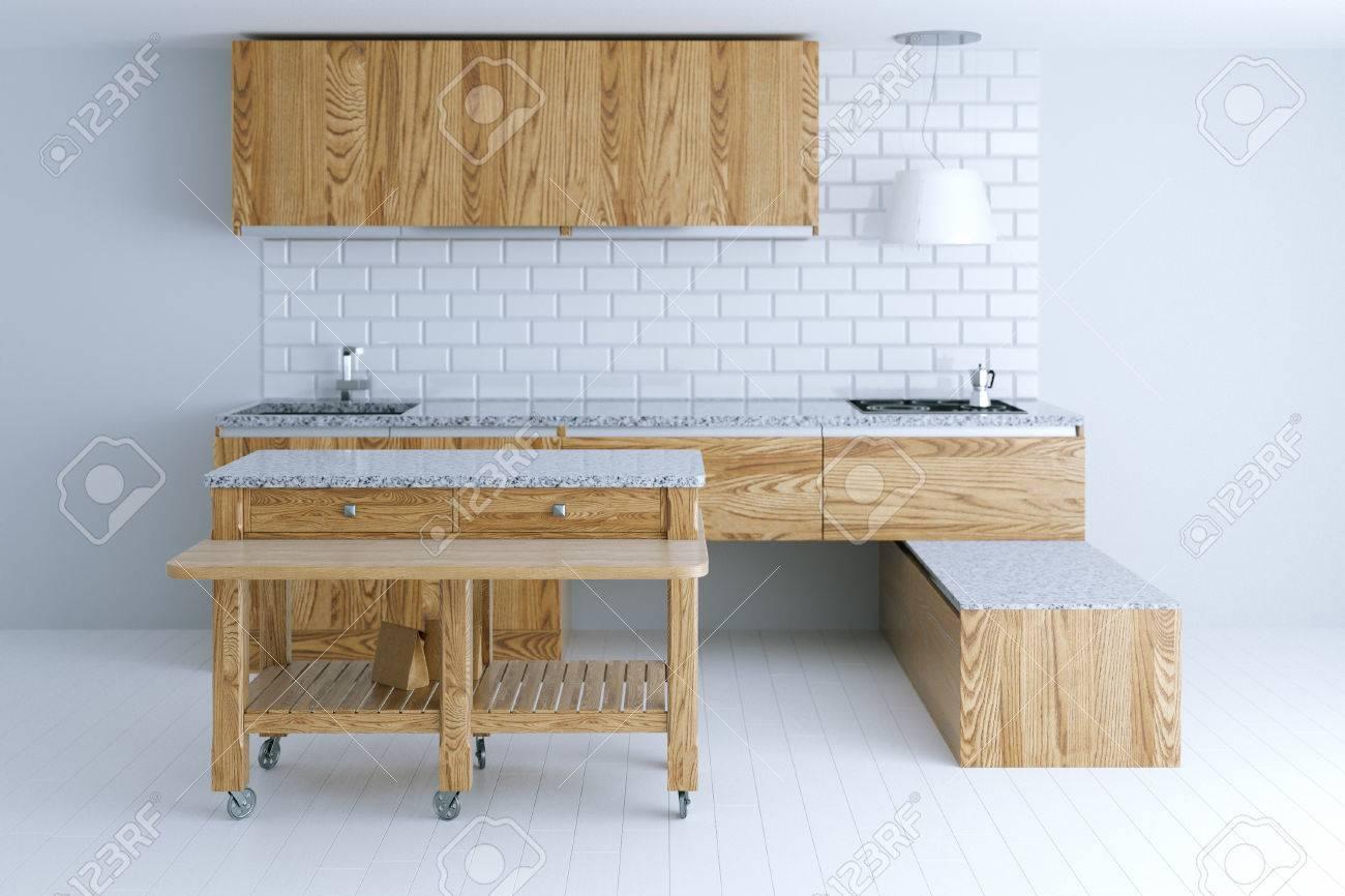 Idea Perfecta Para El Diseño Interior De La Cocina Con Muebles De ...