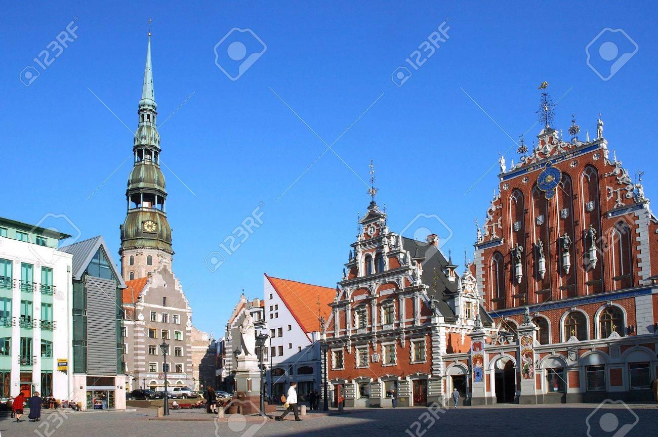 Riga, the town hall area - 493248