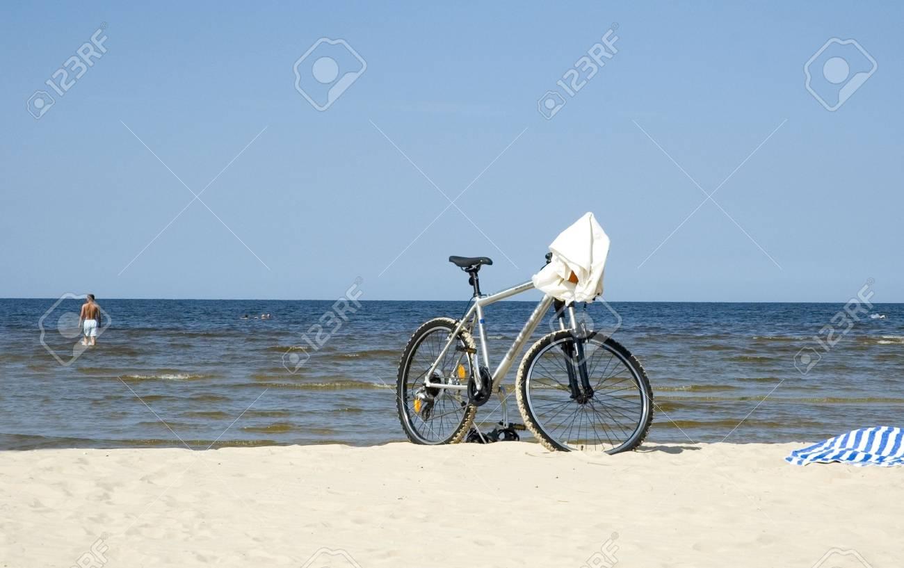 Beach in Jurmala - 1894743