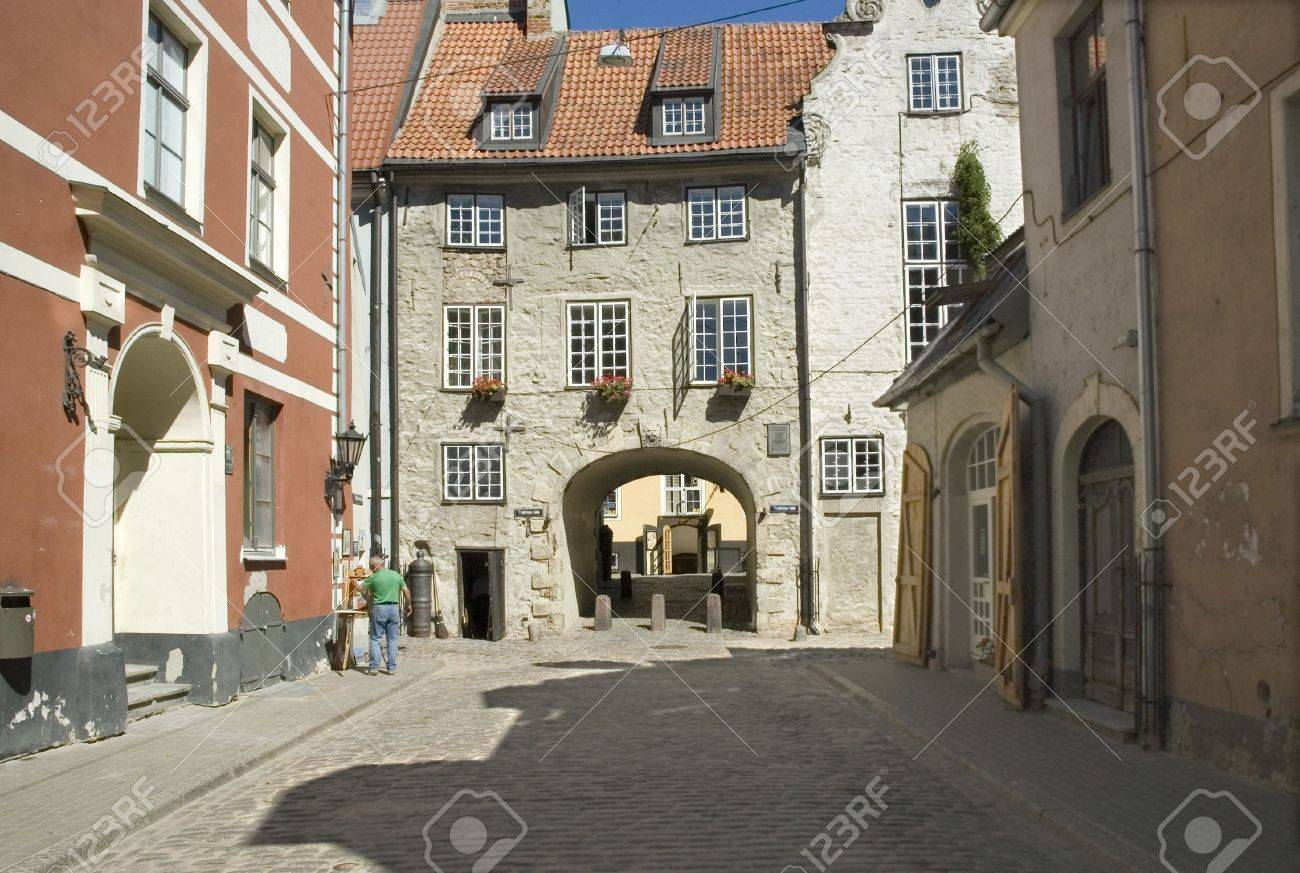 The Swedish gate in Riga in the summer - 2727022