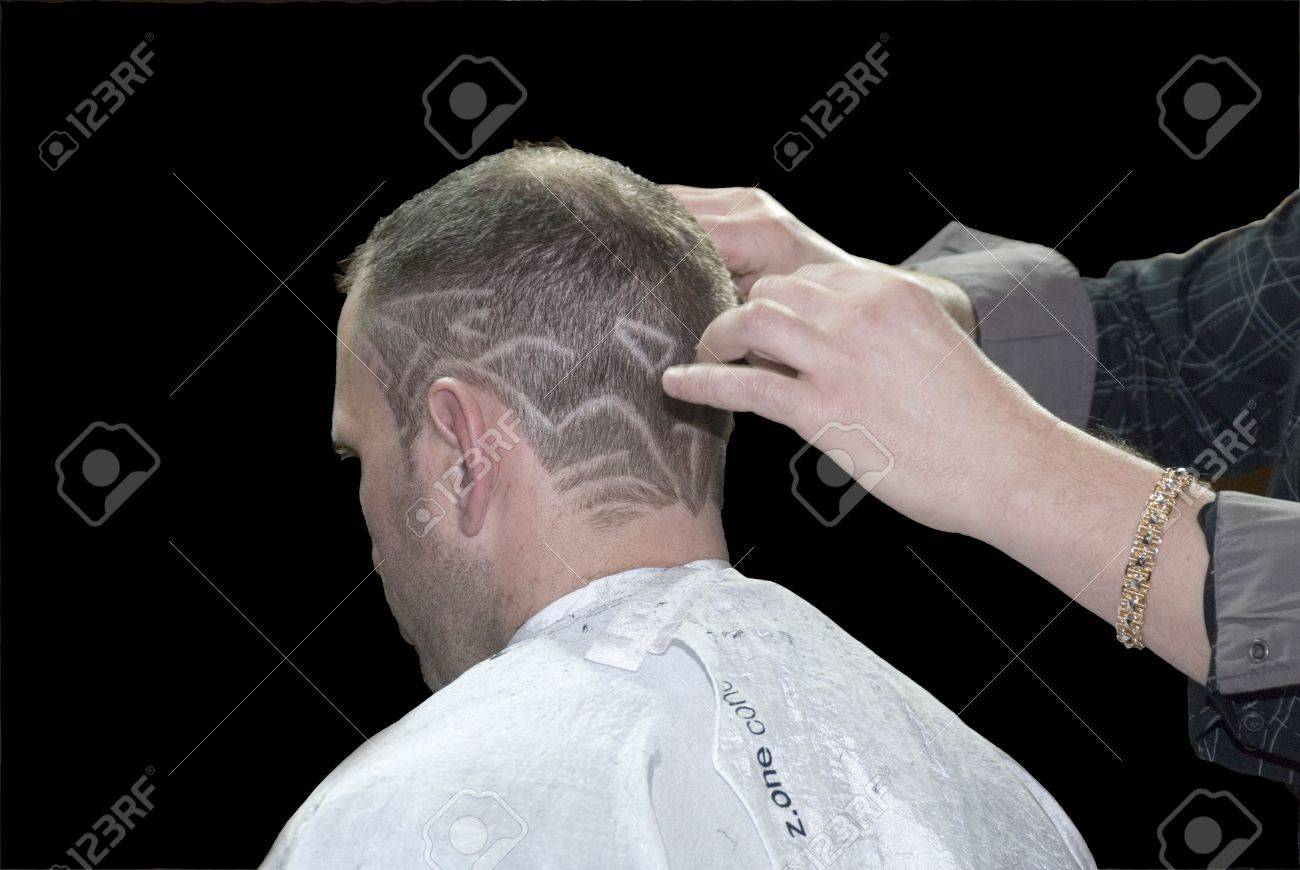 The Art hairstyle of hair in a hairdressing salon - 3890400