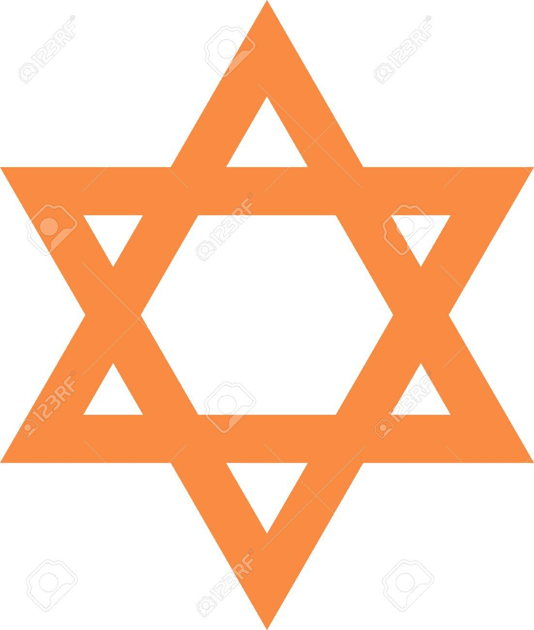 Illustration of a symbol of star in brown Stock Illustration - 2901058