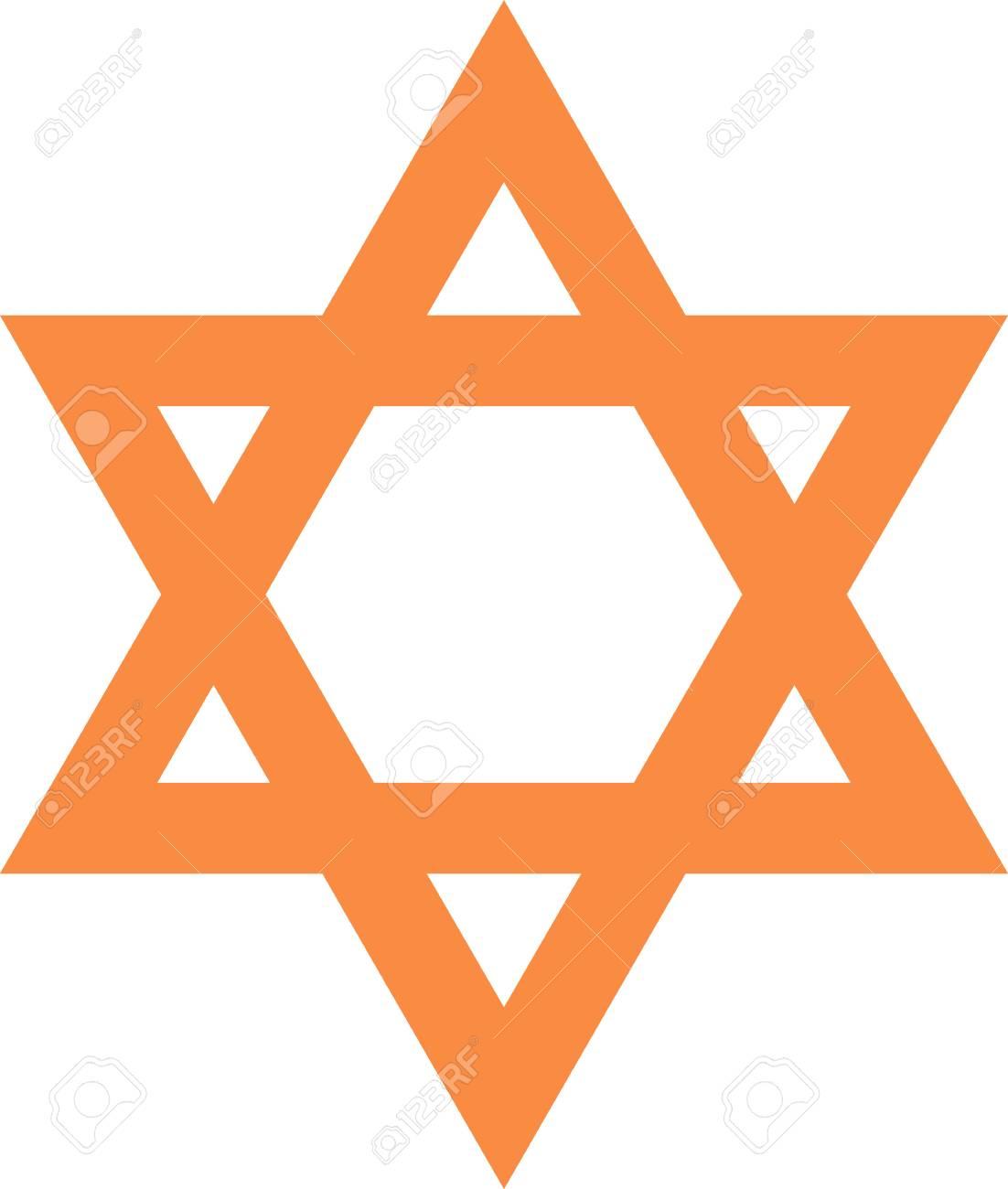 Illustration of a symbol of star in brown Stock Illustration - 3012437