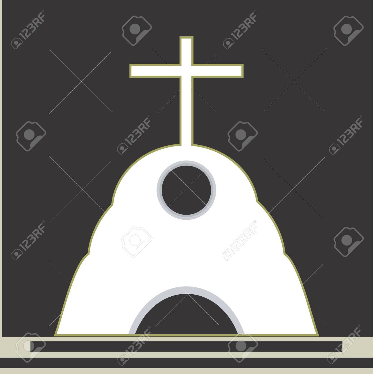 十字のチャペルでのシンボルのイラスト の写真素材画像素材 Image 3013117