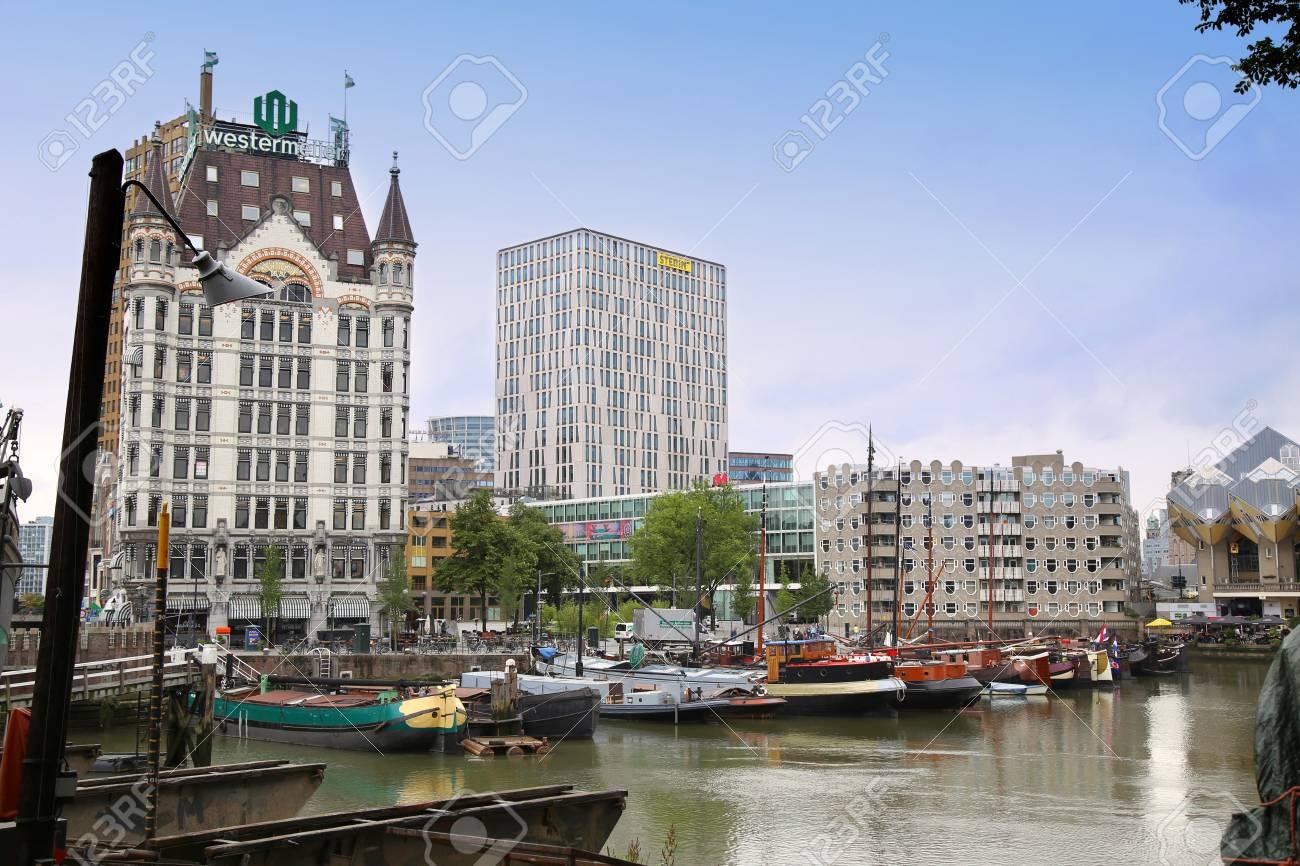 Rotterdam The Netherlands 18 August Rotterdam Is A City Modern