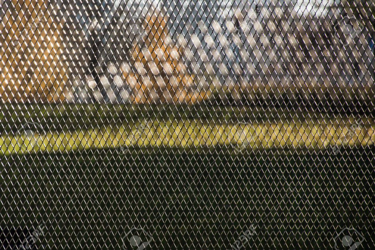 Steel Wire Mesh Fence Abstract Rhythmic Background Texture For ...