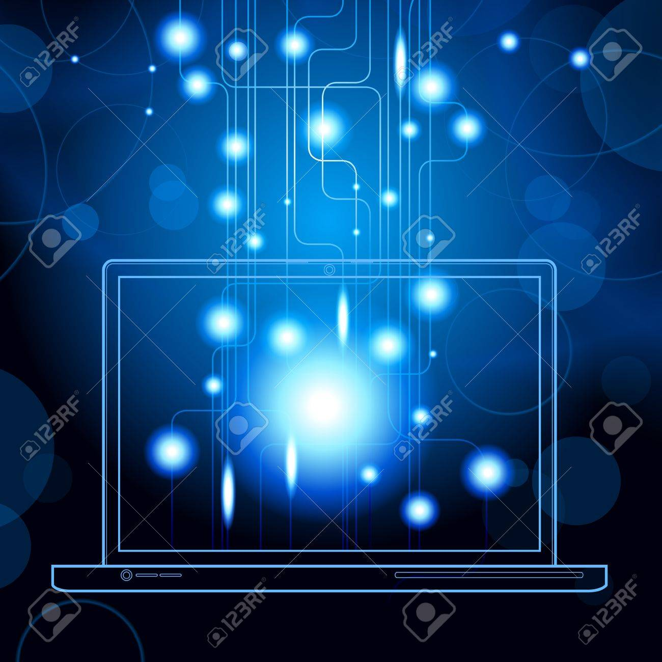 social media, communication in the global computer networks File is saved in AI10 EPS version  This illustration contains a transparency Stock Vector - 18021586