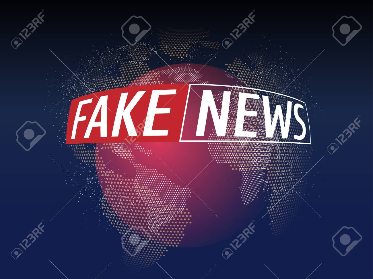 Fake news live on world map background business technology fake fake news live on world map background business technology fake news background vector stock gumiabroncs Image collections