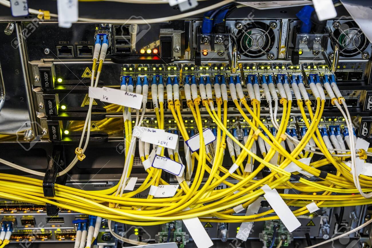 Fiber Optic Wiring on