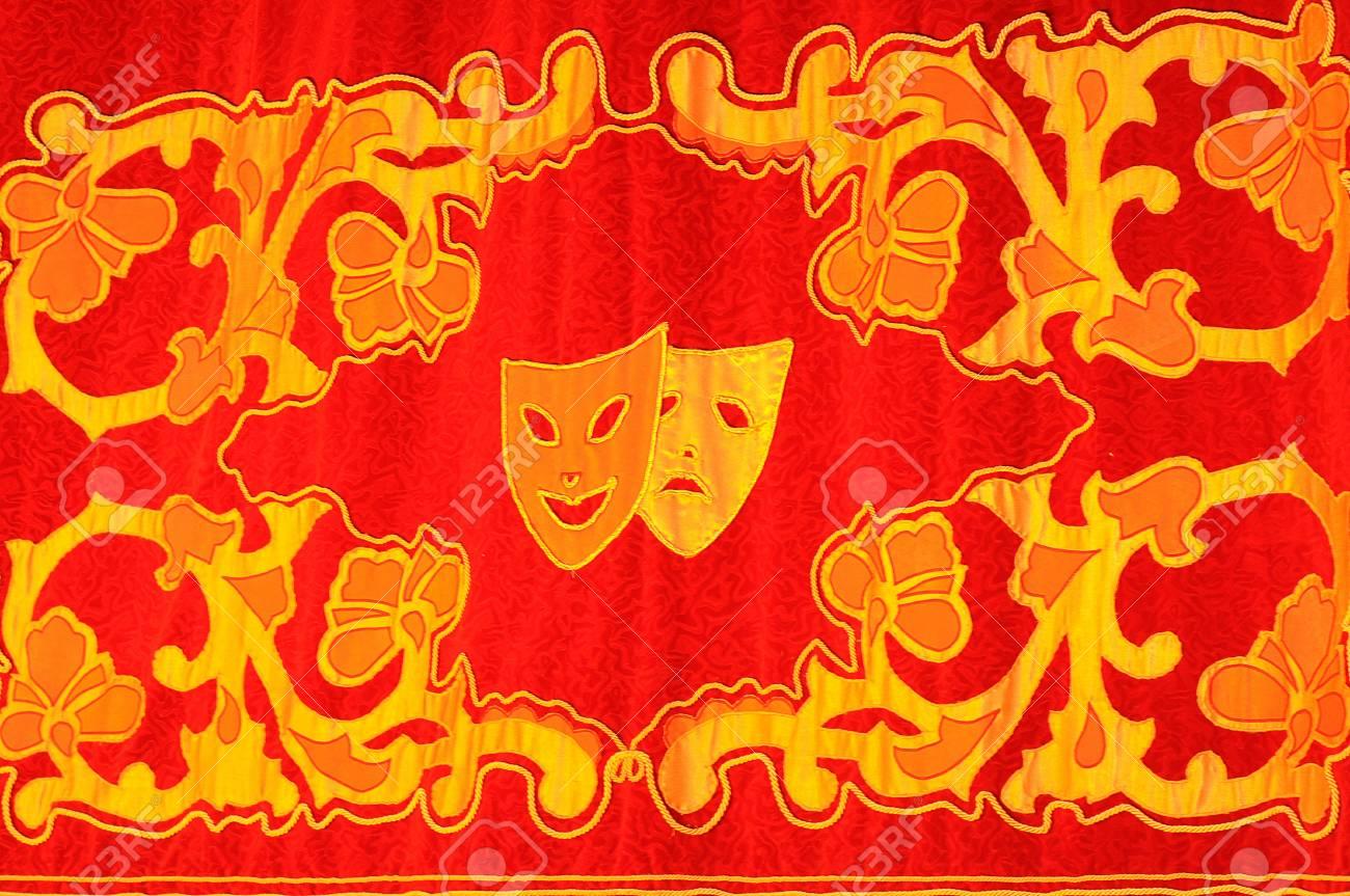 Theatre curtain - 16142757