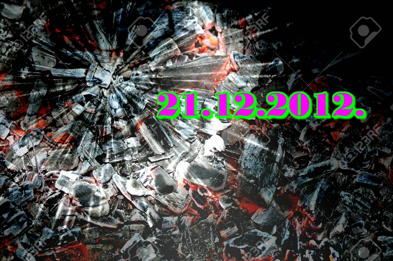 21 12 2012, the end of the world Stock Photo - 16608830