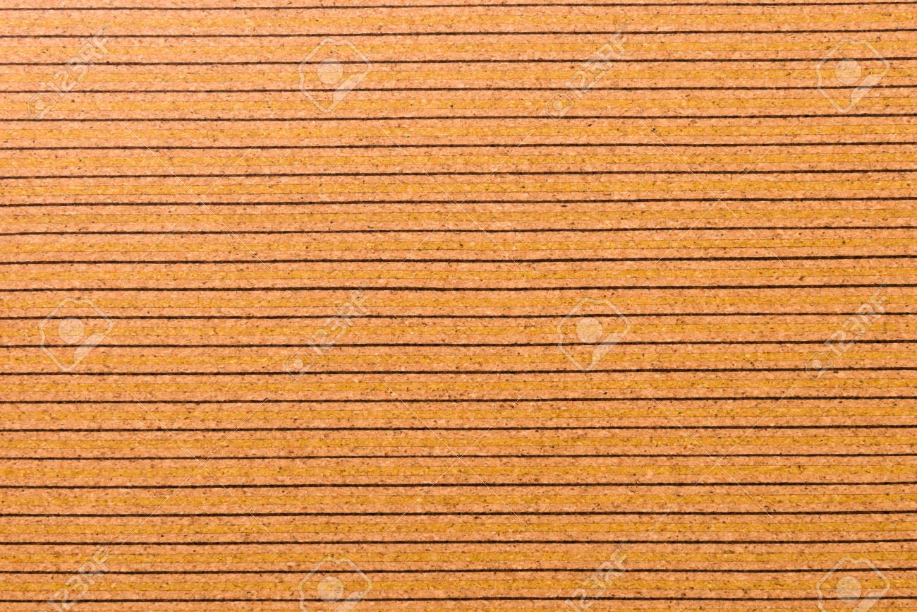 Close Up Background and Texture of Cork Board Wood Surface, Nature Product Industrial - 100534450