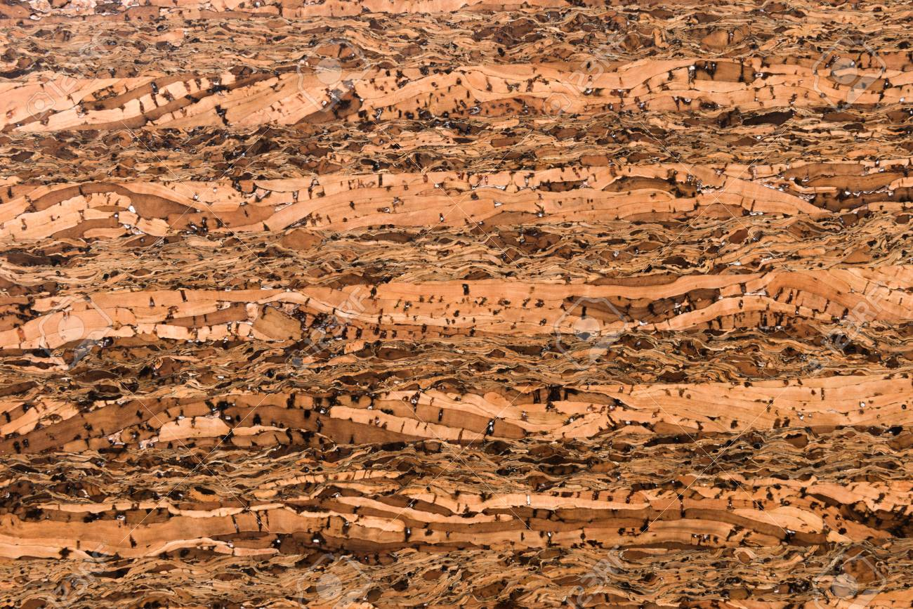 Close Up Background and Texture of Cork Board Wood Surface, Nature Product Industrial - 100534458