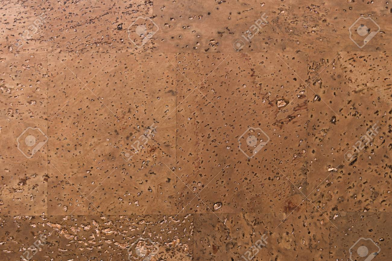 Close Up Background and Texture of Cork Board Wood Surface, Nature Product Industrial - 100534601