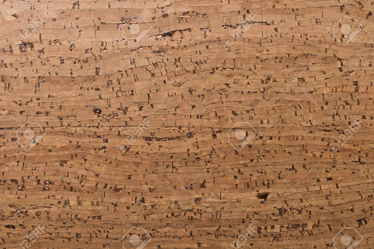 Close Up Background and Texture of Cork Board Wood Surface, Nature Product Industrial - 100534604