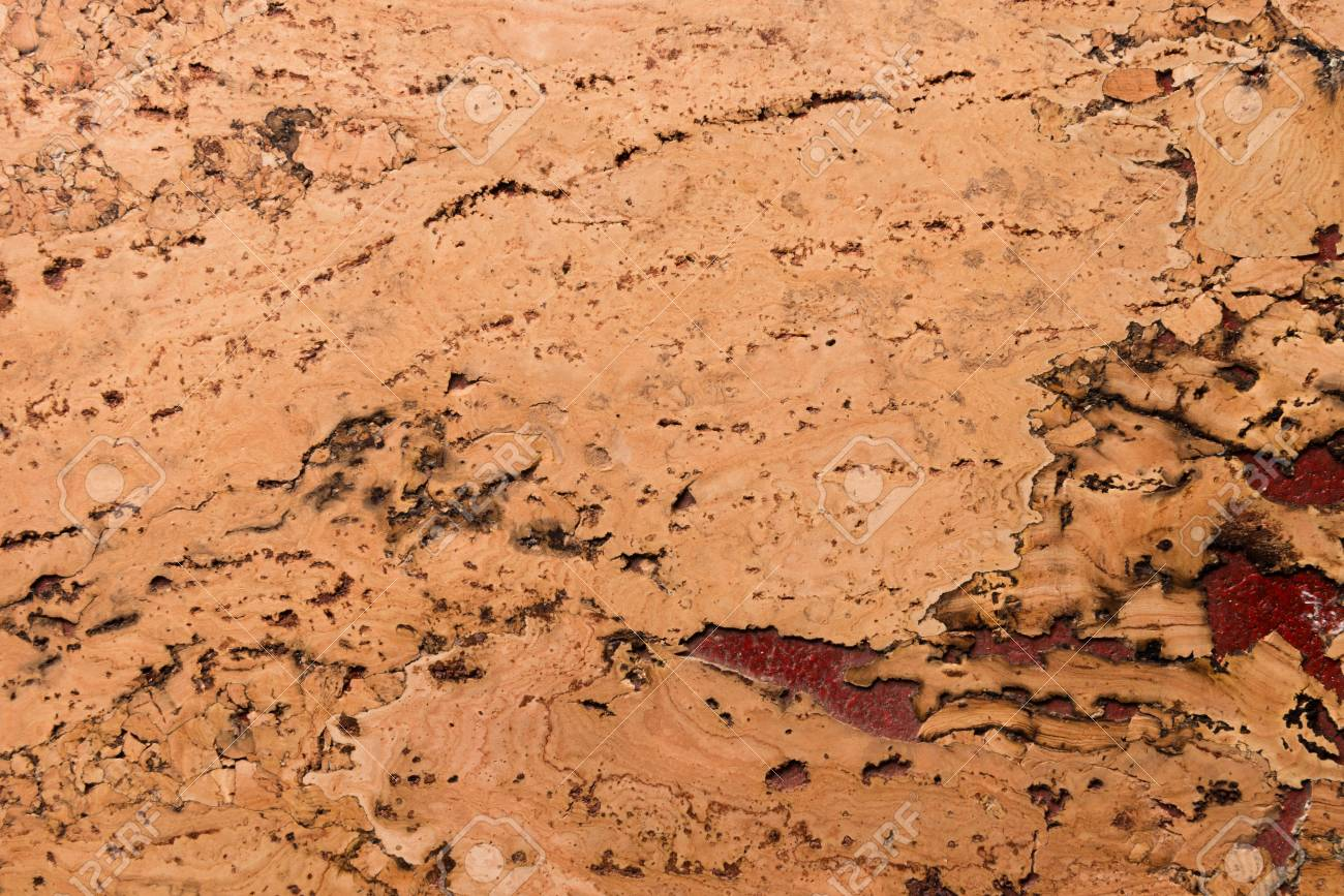 Close Up Background and Texture of Cork Board Wood Surface, Nature Product Industrial - 100534695
