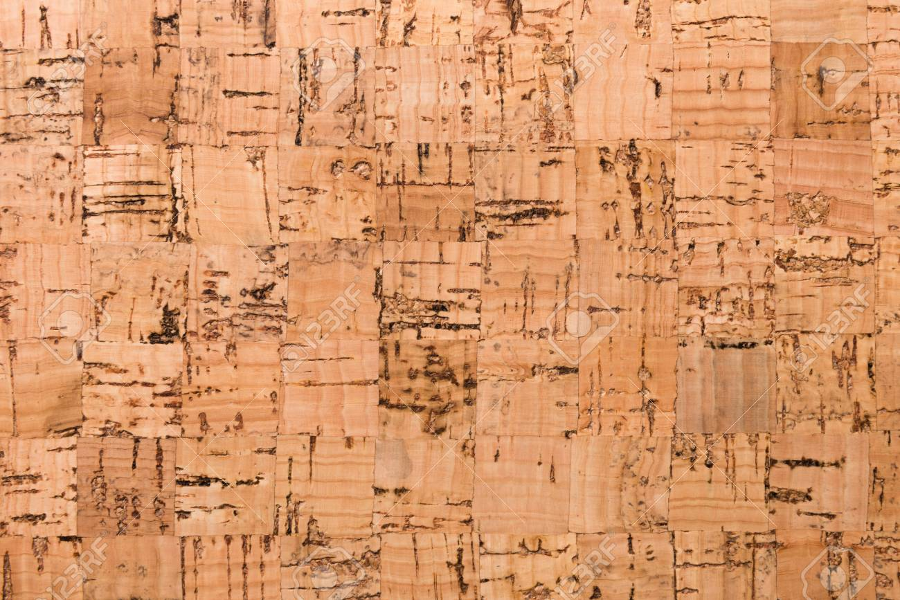 Close Up Background and Texture of Cork Board Wood Surface, Nature Product Industrial - 100534698