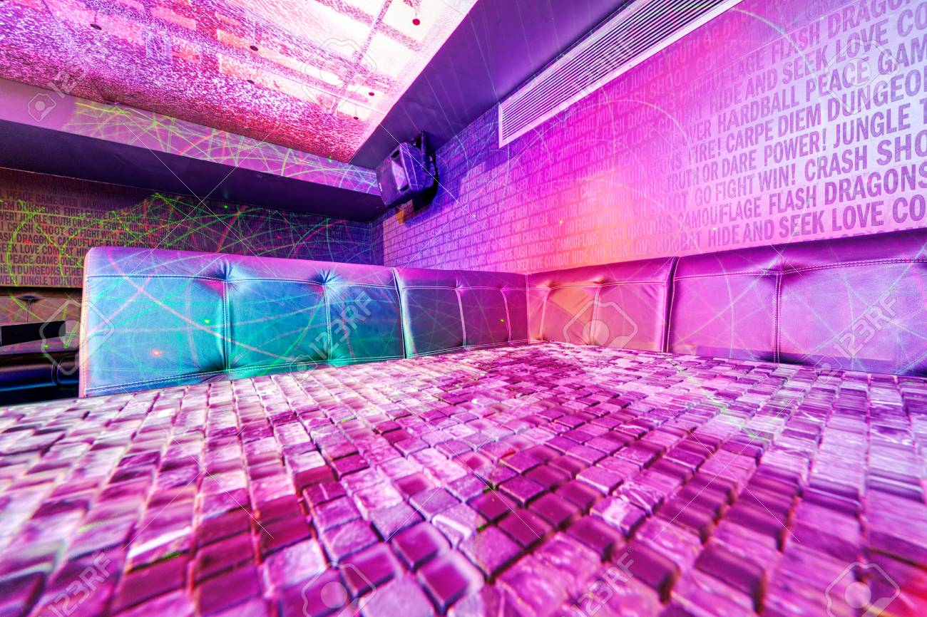 interior of night club with vivid colors stock photo picture and rh 123rf com