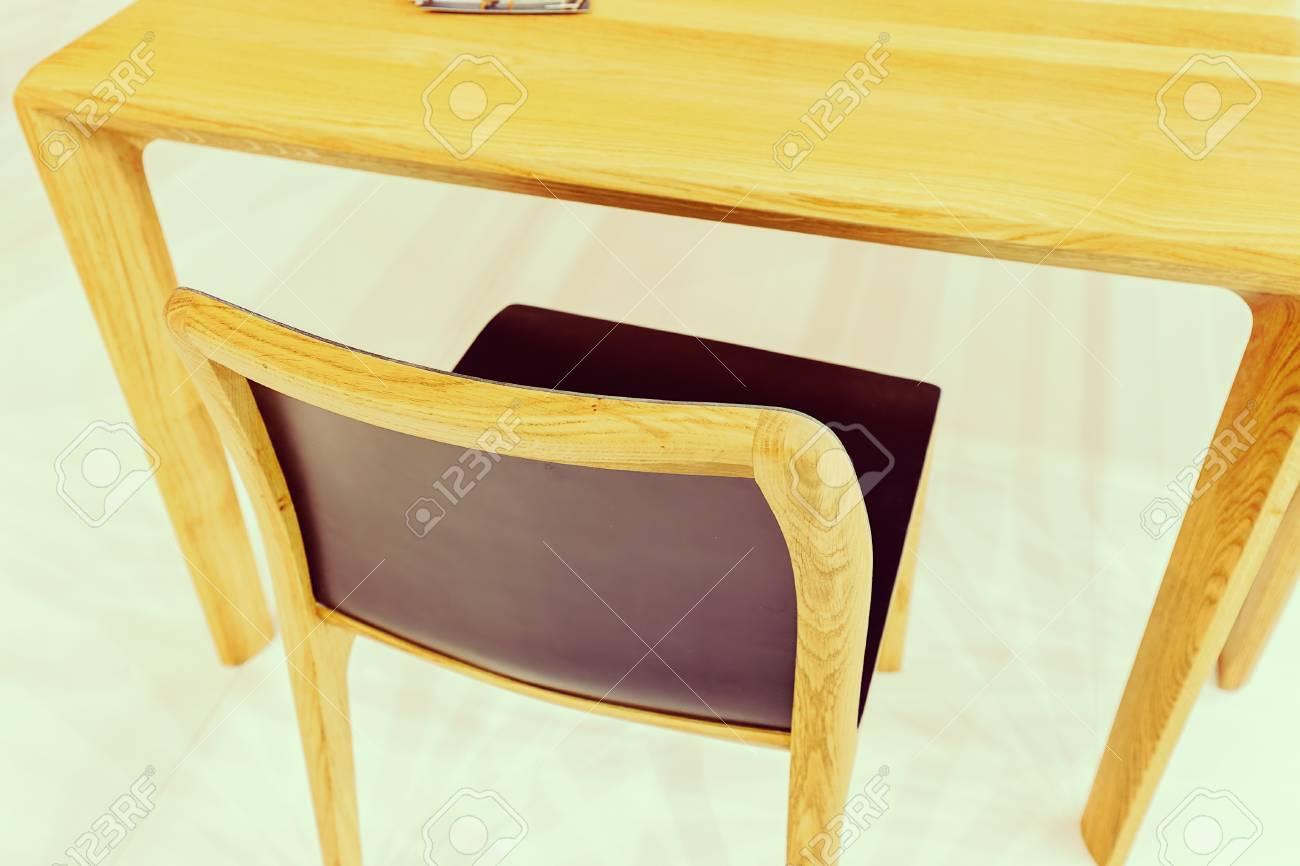 Tipo di sedie da cucina nella sala espositiva, nota la profondità di campo