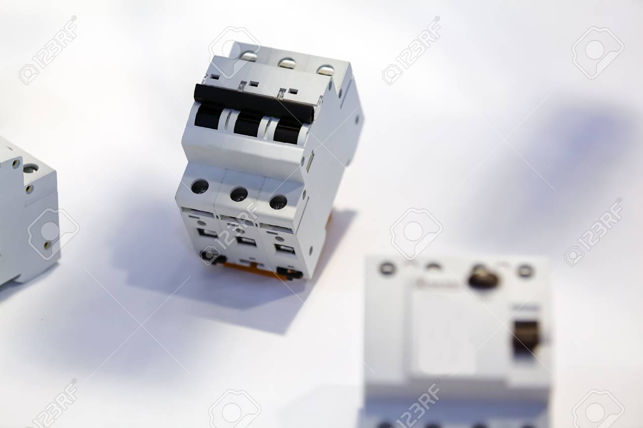 Fuse-box With Three Automatic Fuses For Installation; Note Shallow.. Stock  Photo, Picture And Royalty Free Image. Image 86324145.123RF.com