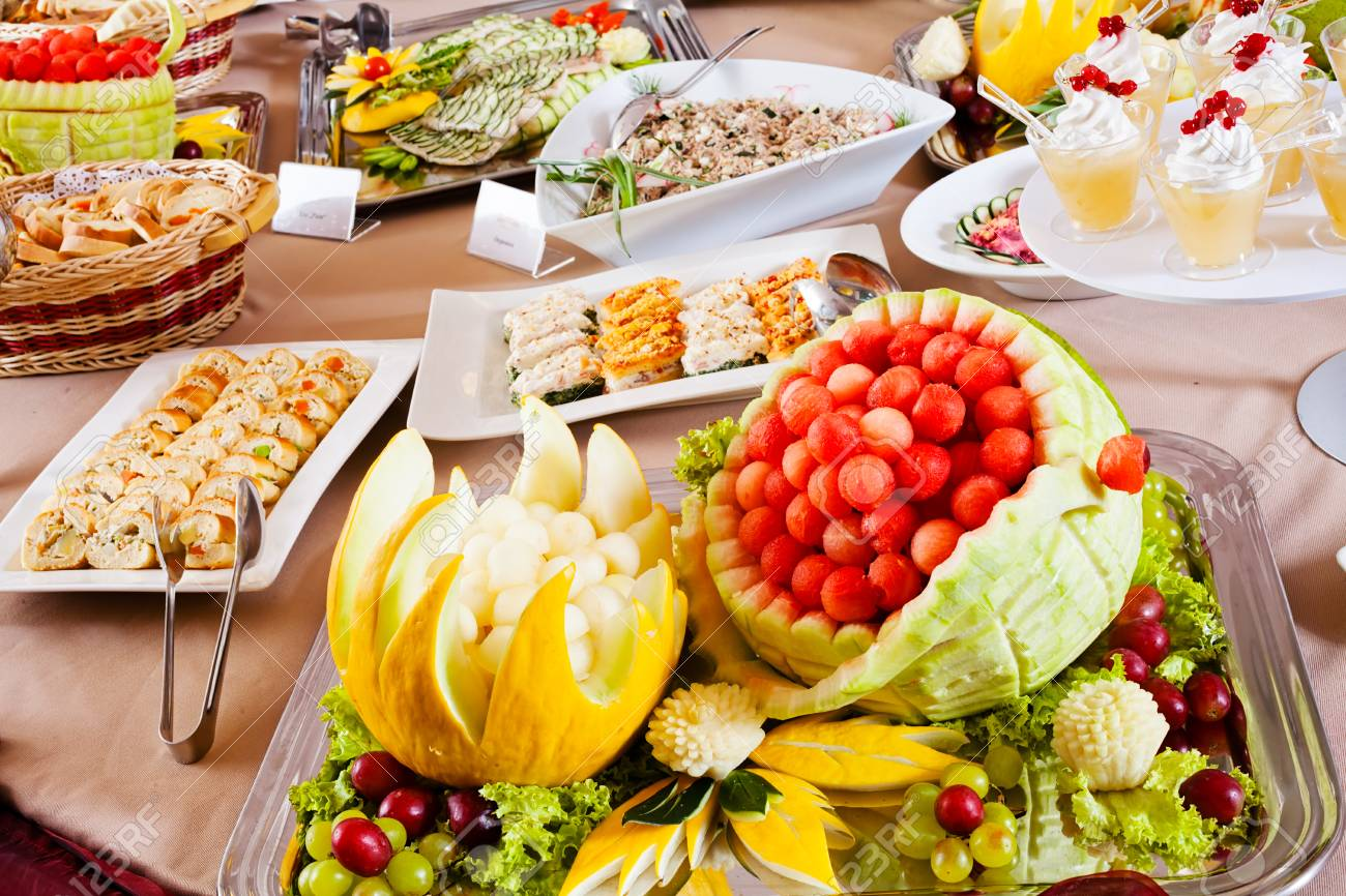 Remarkable Delicious Food On Buffet Table Download Free Architecture Designs Scobabritishbridgeorg