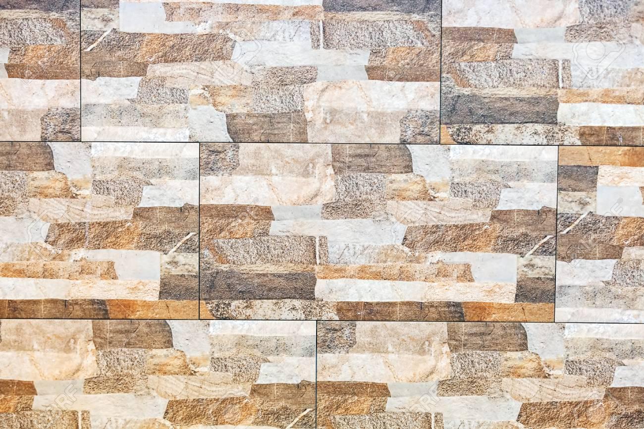Piastrelle Di Ceramica Decorate.Primo Piano Di Bagno Colorato E Piastrelle In Ceramica Decorate A Muro