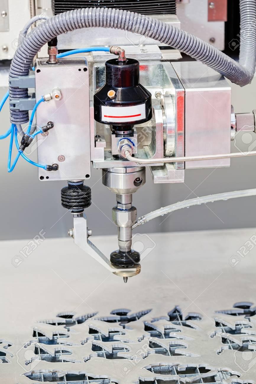 Presentation of high pressure water jet cutting machine in the