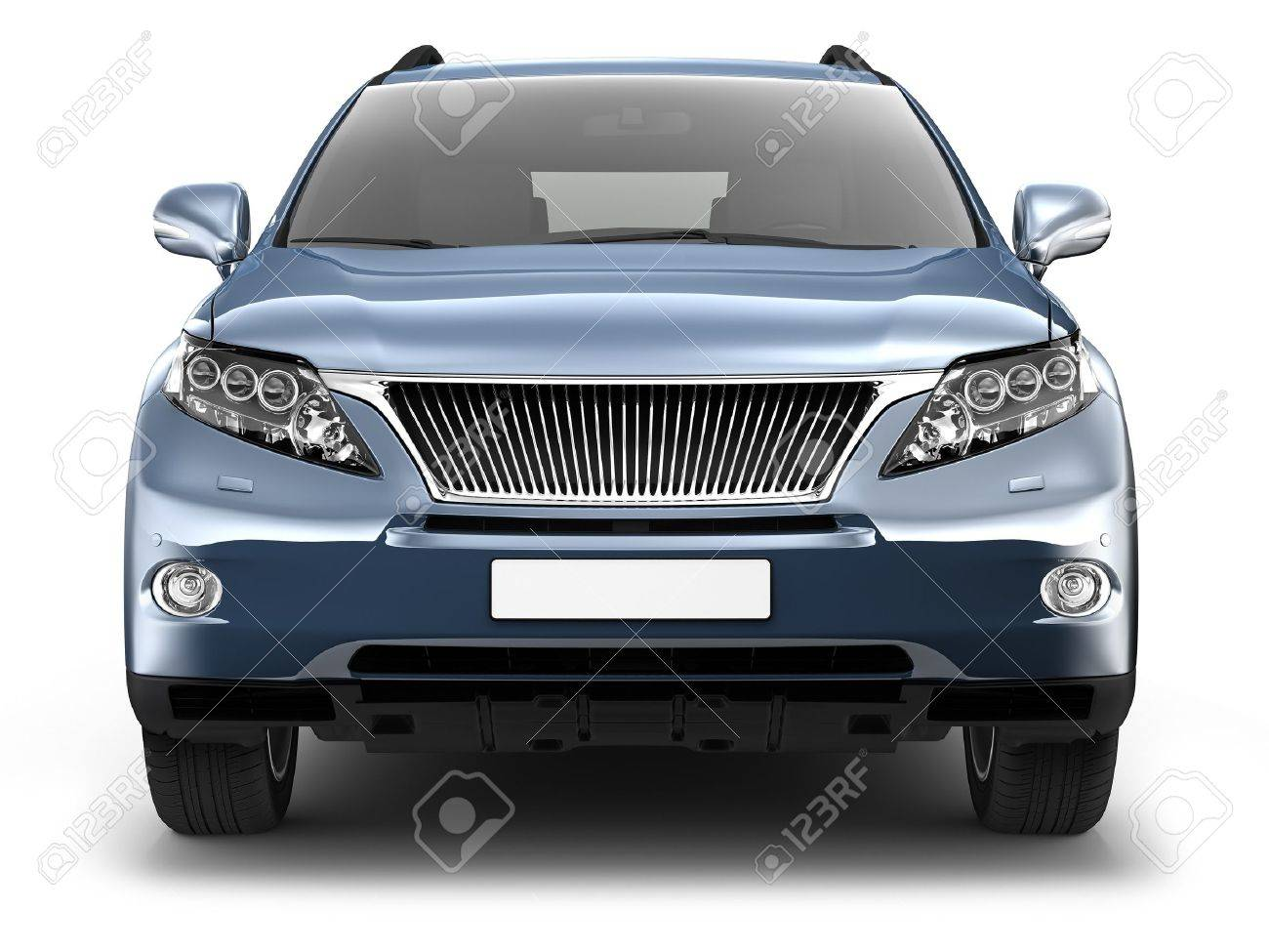 Blue Suv Car Stock Photo Picture And Royalty Free Image Image