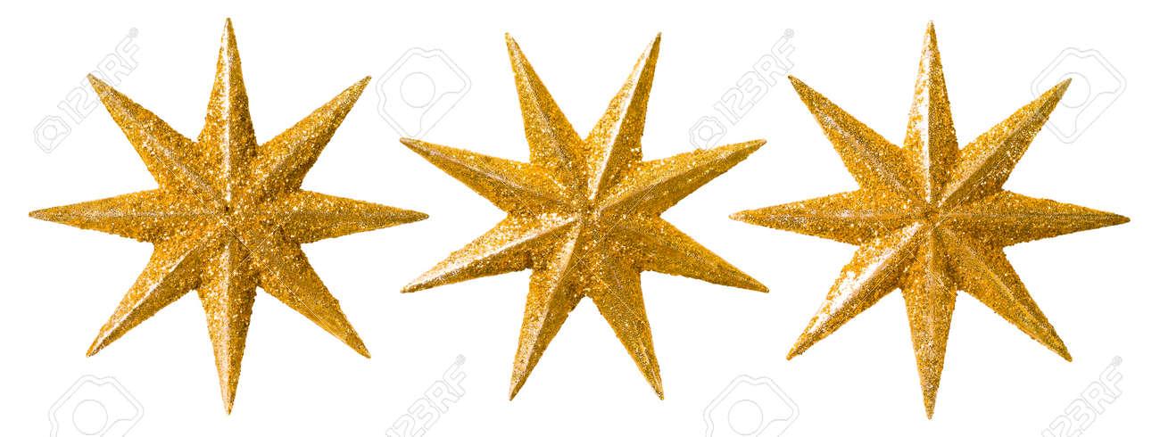 Stern-Weihnachtsdekoration, Weihnachten Dekorative Set, Glitter ...