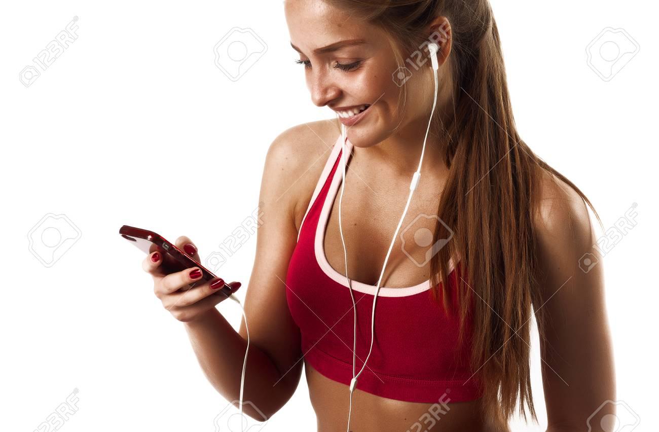 fitness girl naked