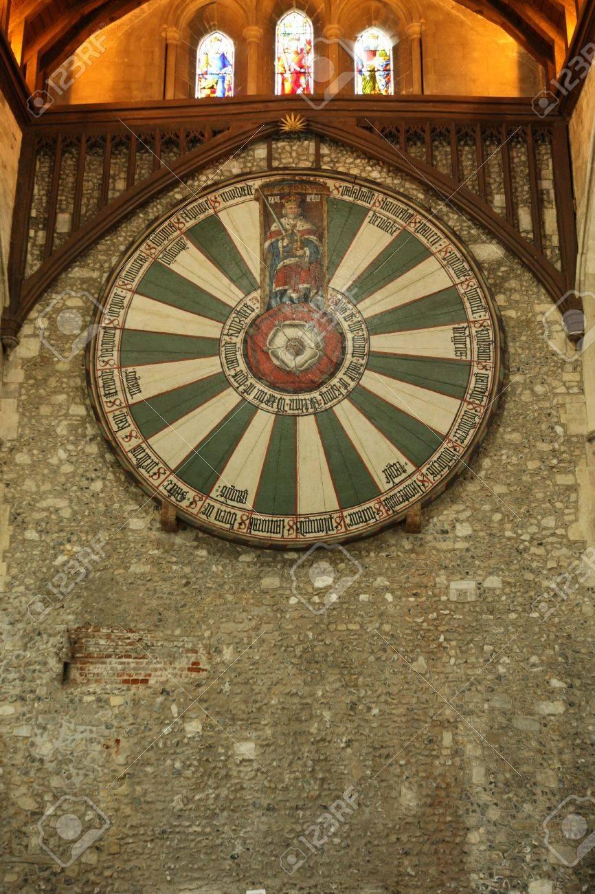 Bon King Arthuru0027s Round Table Stock Photo   9973681