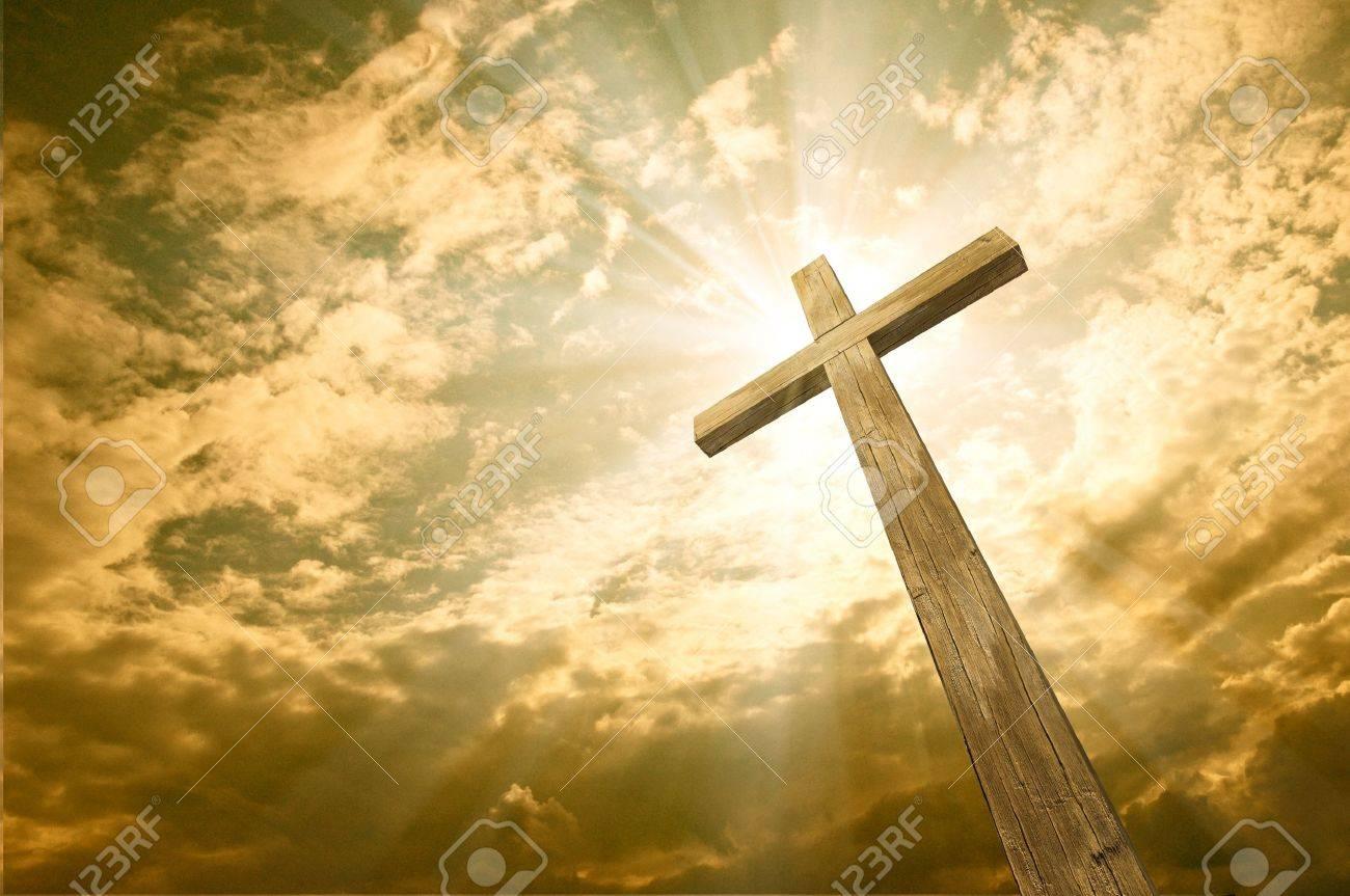 cross against the sky - 11135542