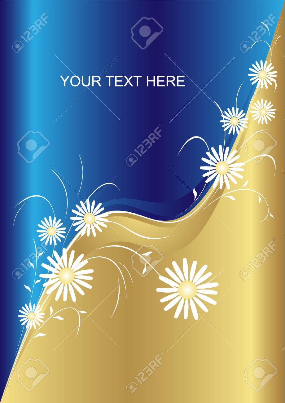 Vector abstract floral background Stock Vector - 3400133