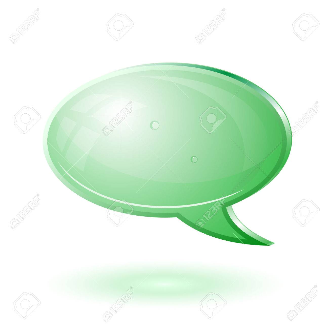 Vector chat icon Stock Vector - 4678823
