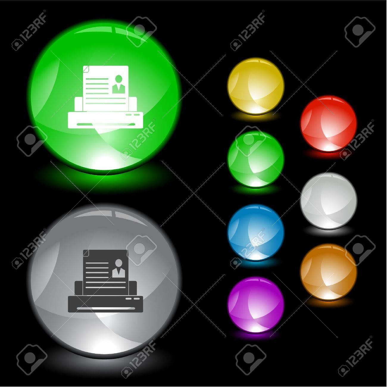 Printer. Stock Vector - 6731607