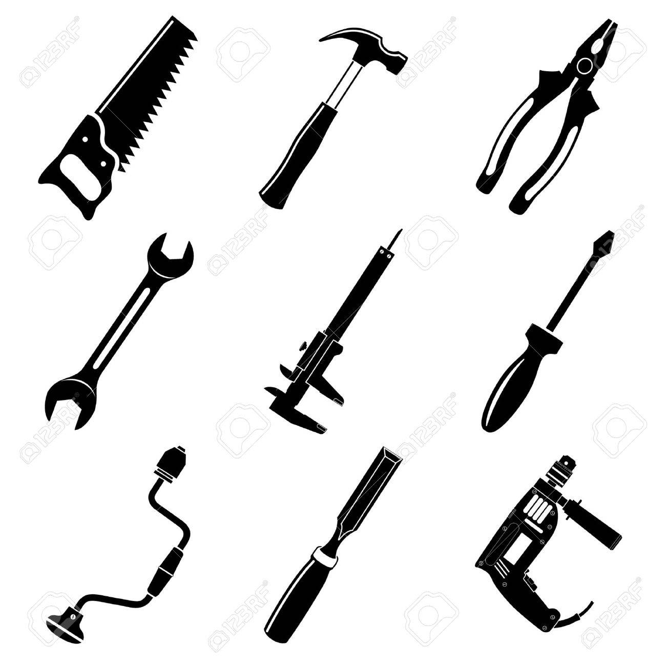 tool icon vector. vector icons of tool stock 7220821 icon o