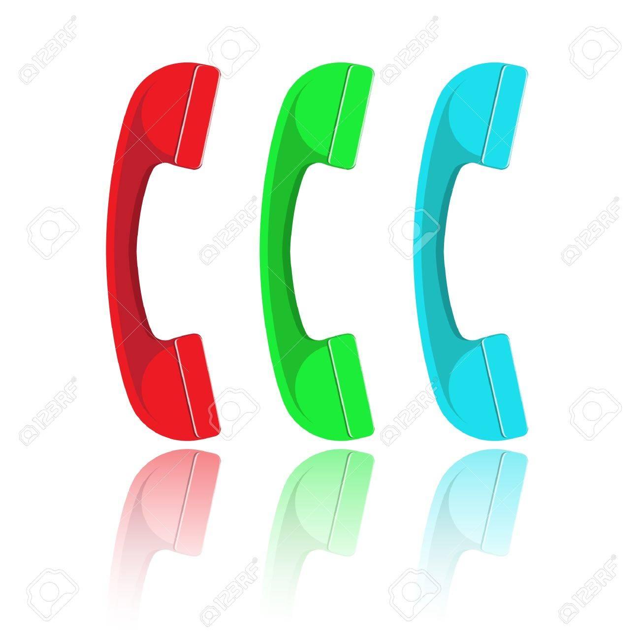 Vector handset Stock Photo - 8919926
