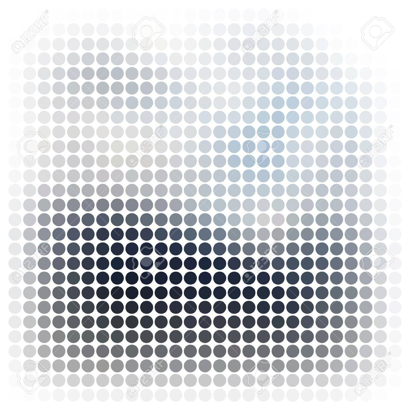 Dots abstract vector background Stock Photo - 10385971