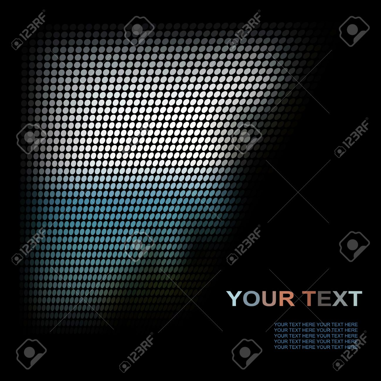 illustration. Abstract texture. Stock Illustration - 10412944