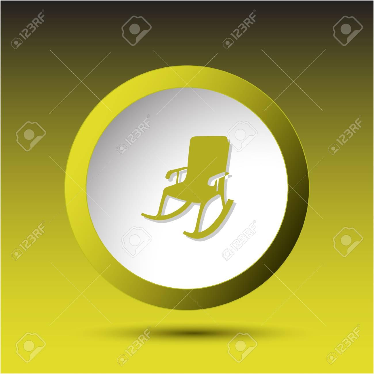 Armchair. Plastic button. Stock Photo - 15550897