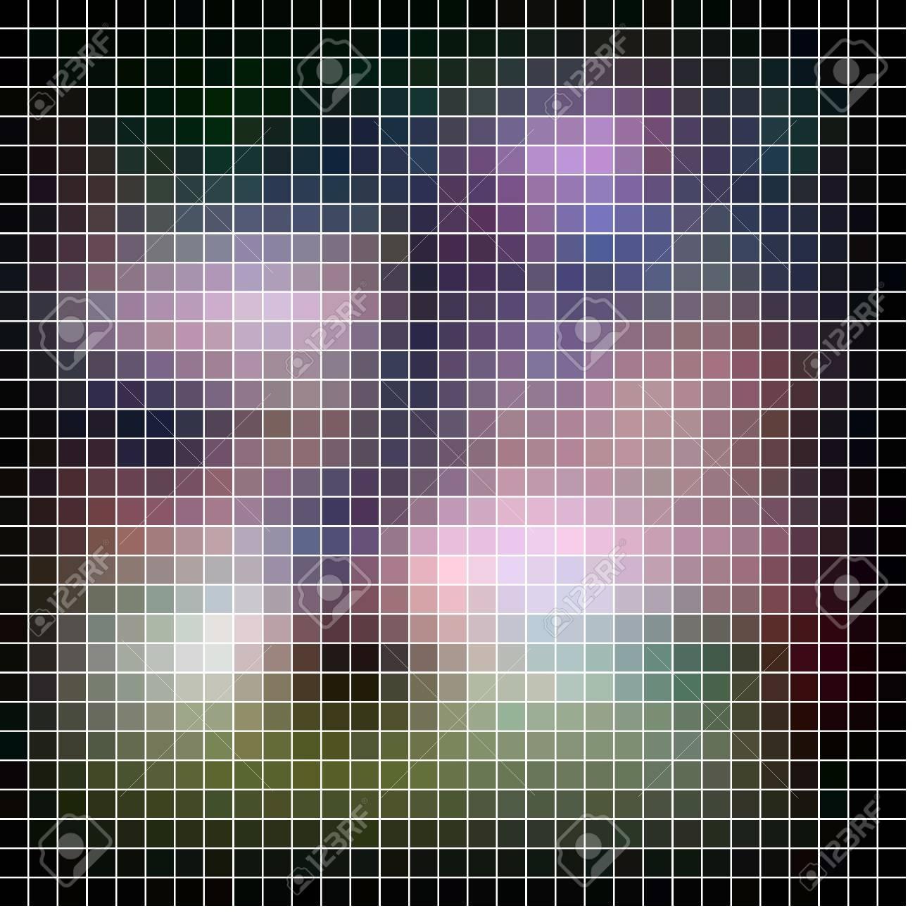 Mosaic background. Abstract vector illustration. Stock Illustration - 17216515
