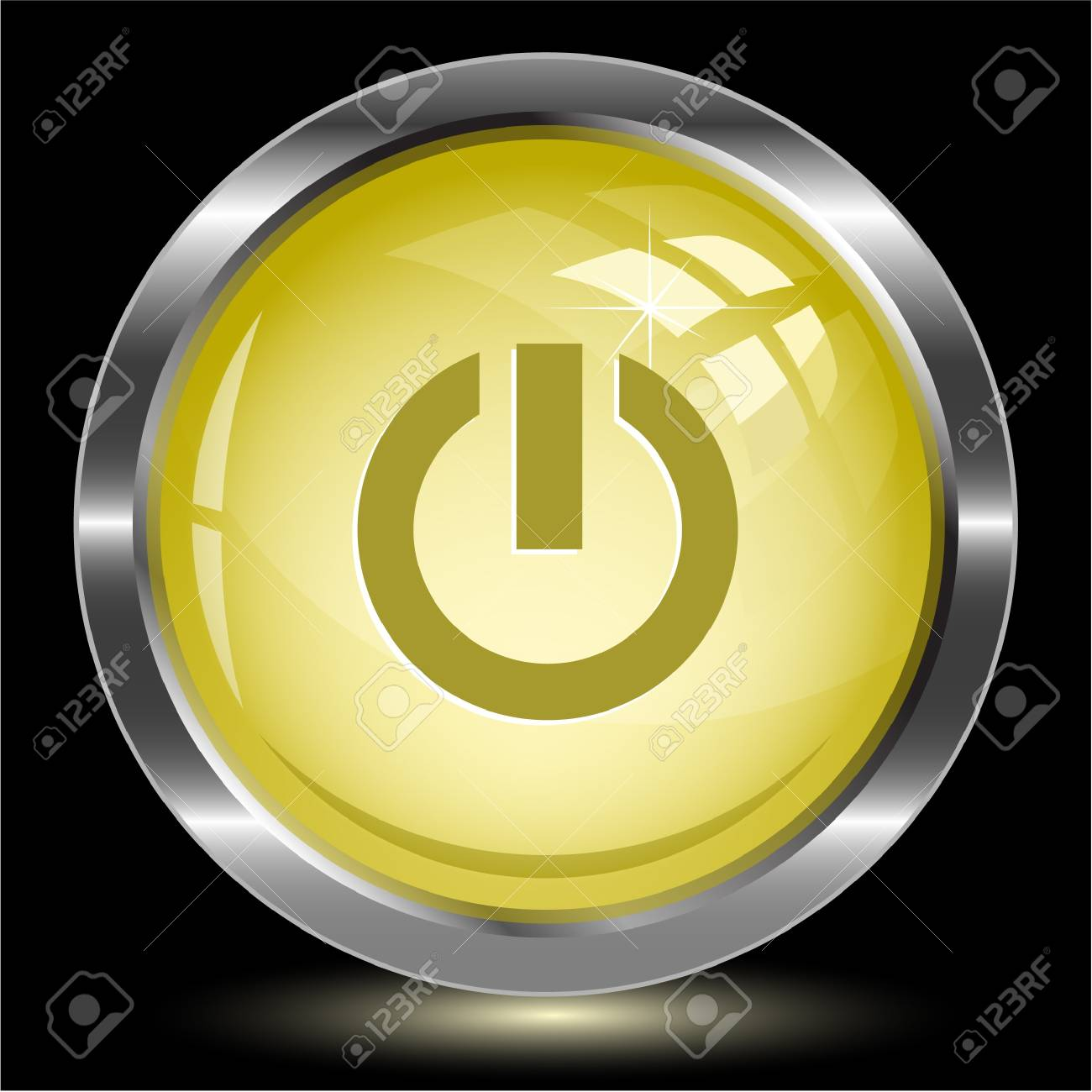 Switch element. Internet button.  illustration. Stock Photo - 17240284