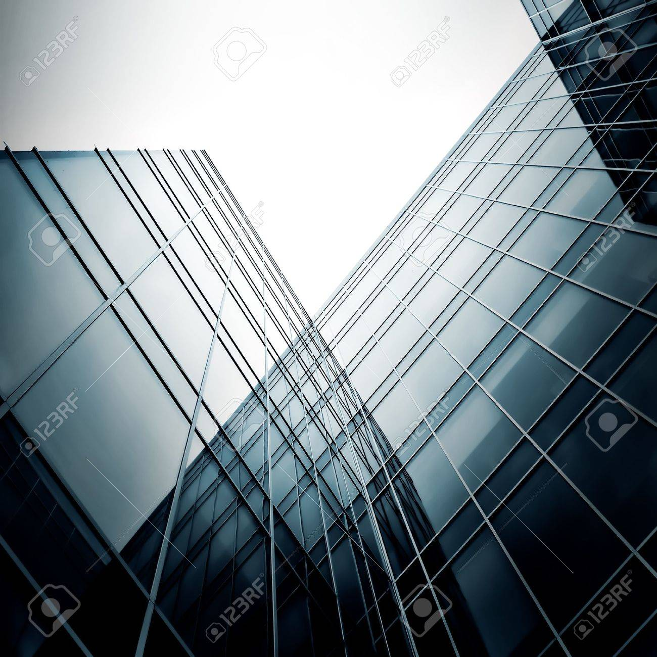 new office building in business center Stock Photo - 7242807